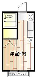 エステートピア鎌倉[2階]の間取り