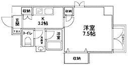 ブレアハウス[302号室]の間取り