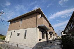 千葉県柏市船戸の賃貸アパートの外観