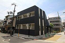 兵庫県西宮市津門住江町の賃貸アパートの外観