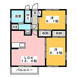 [一戸建] 栃木県宇都宮市若草3丁目 の賃貸【/】の間取り