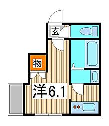 ルミナス[4階]の間取り