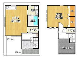 百舌鳥駅 1,780万円