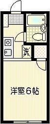 ハウスアイテムI[A-6号室]の間取り