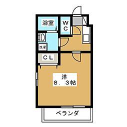 仮) クレドール京都洛南[4階]の間取り