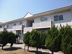 岡山県倉敷市東塚4の賃貸アパートの外観