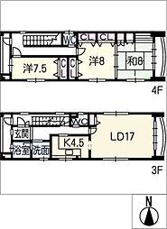 乾ビル3・4F[3階]の間取り