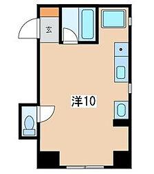 ルックハイツ江ノ島2番館[3階]の間取り