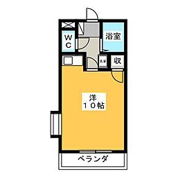 NWマンション[3階]の間取り