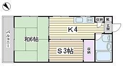 幸荘[102号室]の間取り