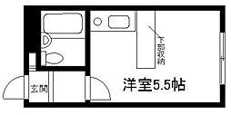 ベルピア渋沢第一[102号室]の間取り