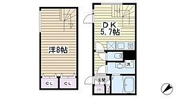 LEGALAND SENGOKU Square[101号室]の間取り