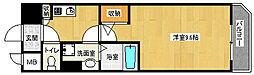 京都府京都市上京区二町目の賃貸マンションの間取り