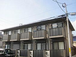 神奈川県横須賀市日の出町3丁目の賃貸アパートの外観