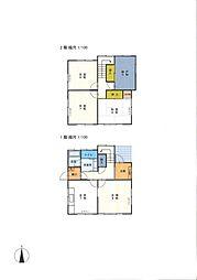 [一戸建] 神奈川県大和市南林間9丁目 の賃貸【神奈川県 / 大和市】の間取り