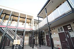 大阪府大阪市鶴見区中茶屋1丁目の賃貸アパートの外観