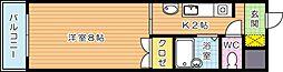 松井ビル[4階]の間取り