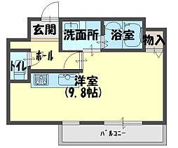 ウィステリアコート守口[2階]の間取り