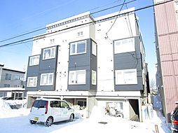 北海道札幌市東区北十九条東10丁目の賃貸アパートの外観