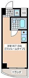 梅丘南マンション[304号室]の間取り