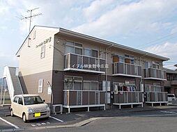 岡山県総社市総社丁目なしの賃貸アパートの外観