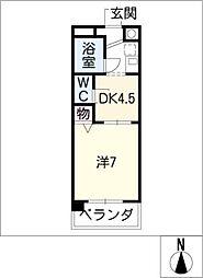 大針パークマンション[2階]の間取り