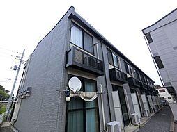 千葉県印旛郡栄町安食1丁目の賃貸アパートの外観