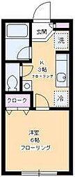 デザインコート桜新町[2階]の間取り