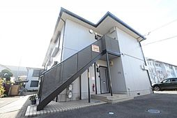 ハイツ宮ノ前B[2階]の外観