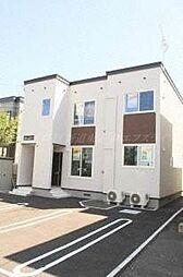 北海道札幌市東区北四十三条東5丁目の賃貸アパートの外観