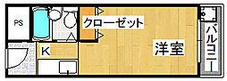 ネオコーポイケダヤ2号館[4階]の間取り