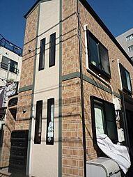 東京都文京区大塚6丁目の賃貸アパートの外観