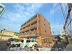 大阪府交野市私部3丁目の賃貸マンションの外観