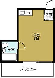 デイズハイツ三先[8階]の間取り
