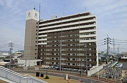 岡山県岡山市北区十日市中町の賃貸マンションの外観