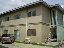 岡山県岡山市北区延友の賃貸アパートの外観