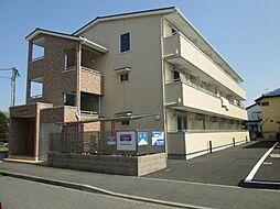 神奈川県川崎市中原区下小田中1丁目の賃貸アパートの外観