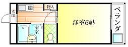 アベニュー23[5階]の間取り