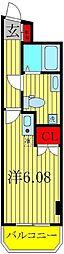 ヴィアスクエア2[2階]の間取り