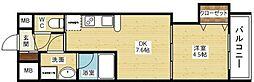 KDXレジデンス新大阪[8階]の間取り