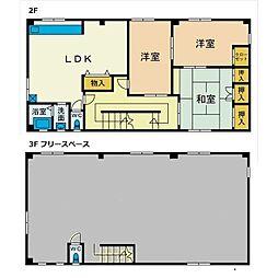 キネブチハウス[2階]の間取り