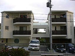 京都府京都市山科区大宅御所田町の賃貸マンションの外観