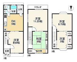 東福寺駅 1,480万円