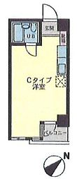 KAWANO SHIMOKITA SOUTH[5階]の間取り