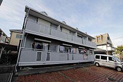 兵庫県西宮市仁川百合野町の賃貸アパートの外観