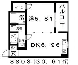 FStyle上田2号館(エフスタイル上田2号館)[302号室号室]の間取り