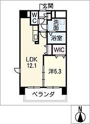 仮)津市南新町マンション[5階]の間取り
