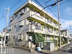 埼玉県蕨市錦町4丁目の賃貸マンションの外観写真