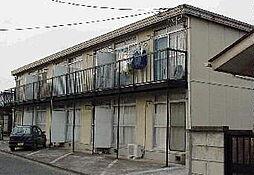 群馬県桐生市広沢町2丁目の賃貸アパートの外観