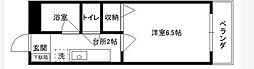 神奈川県横浜市中区大和町1の賃貸マンションの間取り